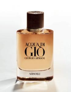 'Acqua Di Giò Absolu' จากความอบอุ่นของไม้ มารวมตัวกับความหอมของน้ำ